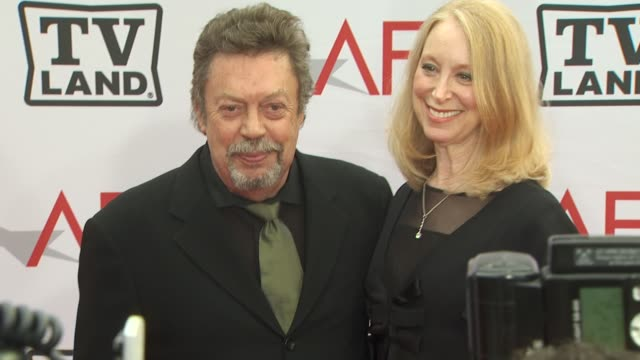 Tim Curry Marcia Hurwitz at the 38th AFI Life Achievement Award Honoring Mike Nichols at Culver City CA