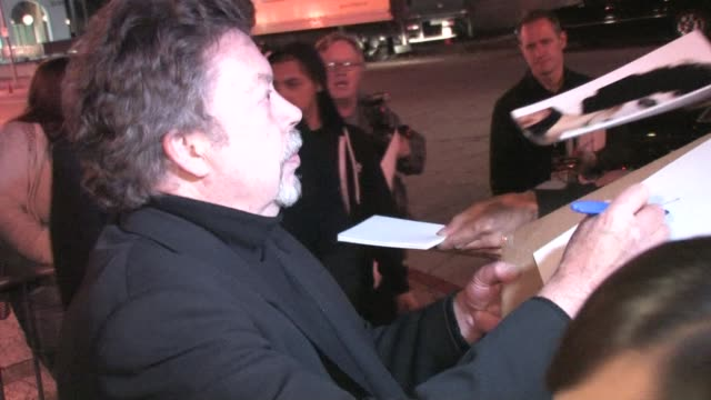 Tim Curry outside the Wiltern Theatre at the Celebrity Sightings in Los Angeles at Los Angeles CA