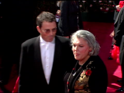 tim daly and tyne daly at the 2006 primetime emmy awards arrivals at the shrine auditorium in los angeles california on september 19 2004 - tyne daly stock videos and b-roll footage