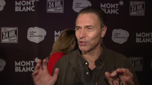INTERVIEW Tim Daly on being thrilled to support the cause on the outpouring of love from the audience On his non profit organization on teaming up...