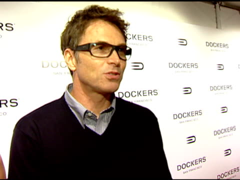 Tim Daly on the location and the event at the Dockers Final Round at NULL in Los Angeles California on February 9 2008