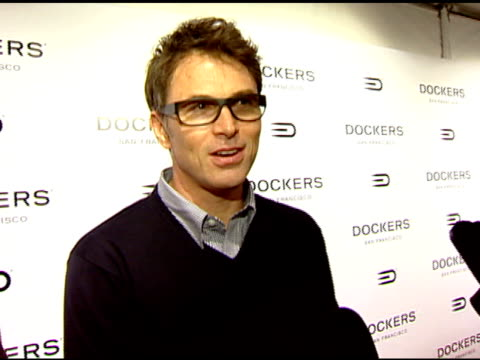 Tim Daly on this being his first time attending and wanting to play in event at the Dockers Final Round at NULL in Los Angeles California on February...