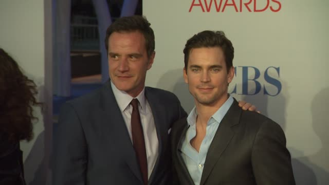 tim dekay, matt bomer at 2012 people's choice awards - arrivals on 1/11/12 in los angeles, ca. - people's choice awards stock videos & royalty-free footage