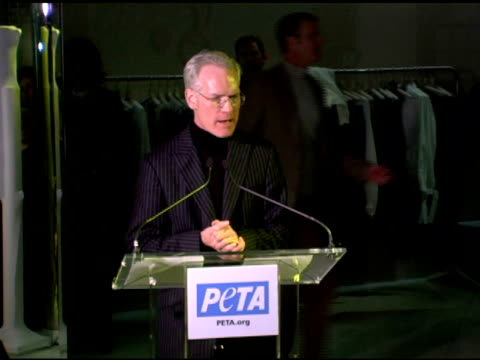 Tim Dunn at the PETA's Fashion Week Bash Hosted By Pamela Anderson at Stella McCartney Store in New York New York on February 3 2006