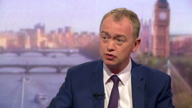 Tim Farron saying he is one of the 'most selfaware politicians' and adds that 'politics in the western hemisphere has never been more unpredictable'