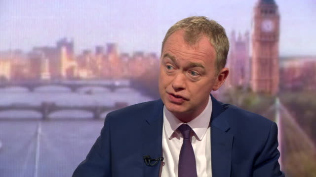 tim farron saying tuition fees should reflect a person's ability to pay, and that he expects theresa may to still be prime minister after the... - commercial activity stock videos & royalty-free footage