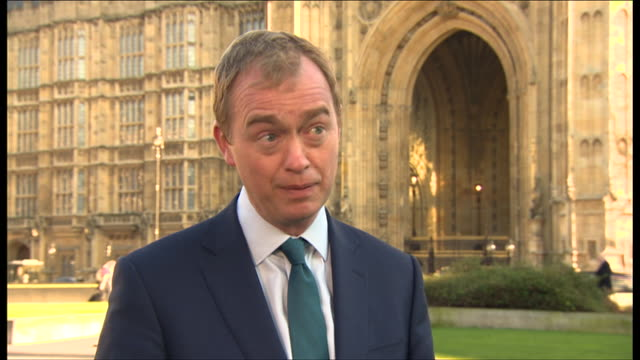 Tim Farron saying wave the white flag across the cliffs of Dover as Theresa May has just done is an insult to business and a theft of democracy