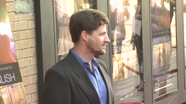 tim guinee at the 'broken english' new york premiere at landmark sunshine cinema in new york, new york on june 18, 2007. - landmark sunshine theater stock videos & royalty-free footage
