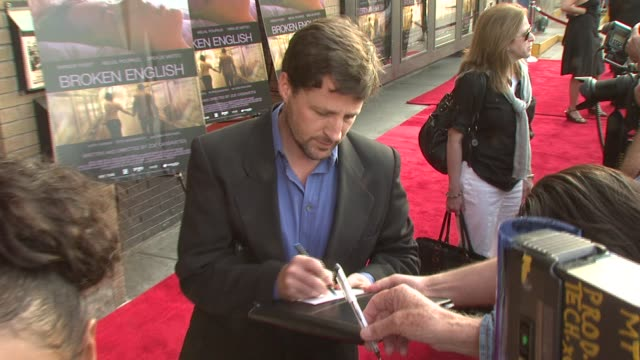 Tim Guinee at the 'Broken English' New York Premiere at Landmark Sunshine Cinema in New York New York on June 18 2007