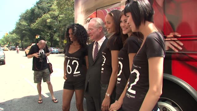 tim gunn and models at the tim gunn celebrates project runway's new home on lifetime television at new york ny - project runway stock videos and b-roll footage