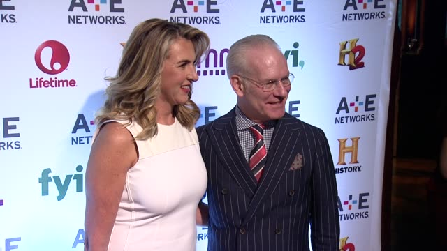Tim Gunn at 2014 AE Networks Upfront Arrivals at Park Avenue Armory on May 08 2014 in New York City