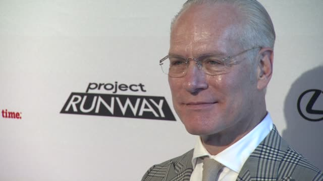 tim gunn at project runway 10th anniversary party at highline on july 17 2012 in new york new york - project runway stock videos and b-roll footage