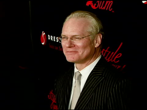tim gunn at the rachel hunter and slim-fast host style your slim event with special guest tim gunn and dj macy gray at boulevard3 in hollywood,... - レイチェル ハンター点の映像素材/bロール