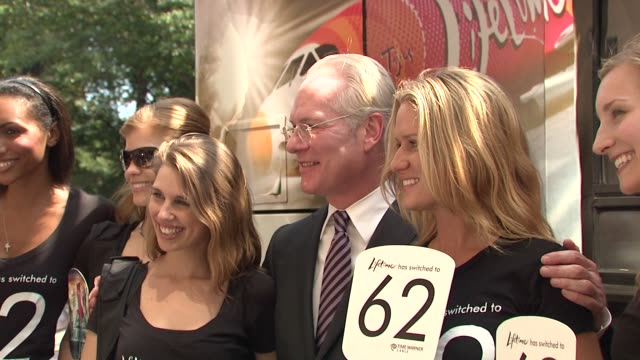 tim gunn celebrates project runway's new home on lifetime television new york ny 8/19/09 - project runway stock videos and b-roll footage