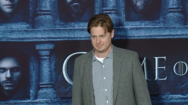 """vídeos y material grabado en eventos de stock de tim heidecker at the """"game of thrones - season 6"""" los angeles premiere at tcl chinese theatre on april 10, 2016 in hollywood, california. - tcl chinese theatre"""