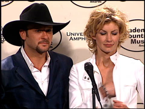 tim mcgraw at the 1999 academy of country music awards at universal studios in universal city california on may 5 1999 - tim mcgraw stock videos and b-roll footage