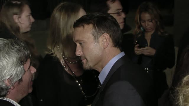 tim mcgraw at the 'country strong' premiere at beverly hills ca - tim mcgraw stock videos and b-roll footage