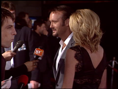tim mcgraw at the 'friday night lights' premiere at grauman's chinese theatre in hollywood california on october 7 2004 - tim mcgraw stock videos and b-roll footage
