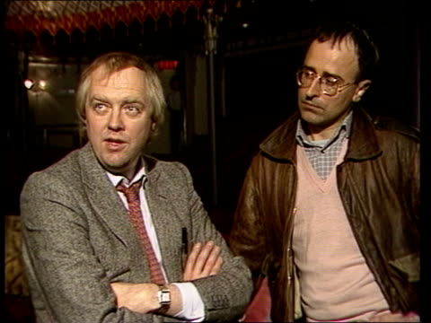 REOPENING Tim Rice and Stephen Oliver interview SOT