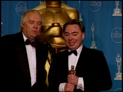 Tim Rice at the 1997 Academy Awards Governor's Ball at the Shrine Auditorium in Los Angeles California on March 24 1997
