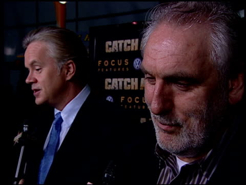 tim robbins and phillip noyce at the 'catch a fire' los angeles premiere at arclight cinemas in hollywood, california on october 25, 2006. - tim robbins stock videos & royalty-free footage