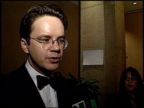 Tim Robbins at the 1993 Golden Globe Awards at the Beverly Hilton in Beverly Hills California on January 23 1993