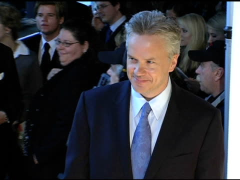 tim robbins at the 2005 critics' choice awards at the wiltern theater in los angeles california on january 10 2005 - wiltern theatre stock videos and b-roll footage