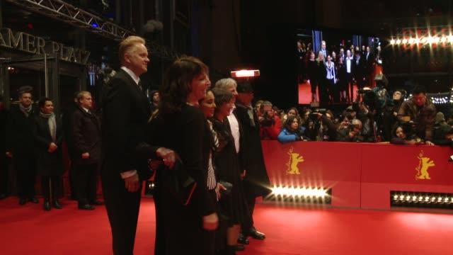 tim robbins at 'the grandmaster' premiere - 63rd berlinale international film festival. tim robbins at 'the grandmaster' premiere - 63rd b at... - tim robbins stock videos & royalty-free footage
