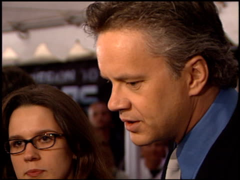 tim robbins at the 'mission to mars' premiere at the el capitan theatre in hollywood, california on march 6, 2000. - tim robbins stock videos & royalty-free footage