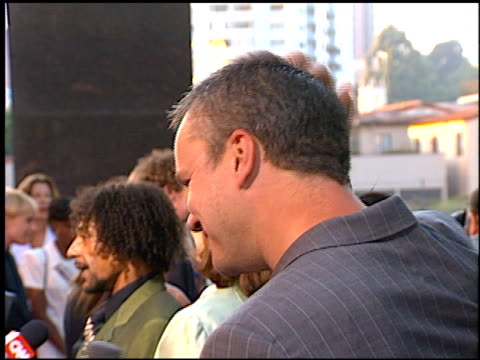 Tim Robbins at the 'Nothing to Los'e Premiere at Avco Cinema in Westwood California on July 8 1997