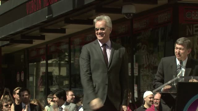 Tim Robbins at the Tim Robbins Receives a Star on the Hollywood Walk of Fame at Los Angeles CA
