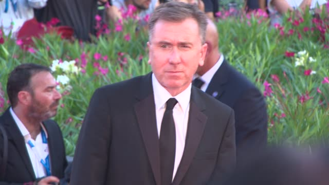 tim roth at opening night gala 'birdman' red carpet 71st venice international film festival at palazzo del casino on august 27 2014 in venice italy - tim roth stock videos and b-roll footage