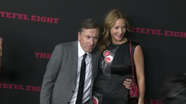 """tim roth at """"the hateful eight"""" world premiere at arclight cinemas on december 07, 2015 in hollywood, california. - arclight cinemas hollywood stock-videos und b-roll-filmmaterial"""