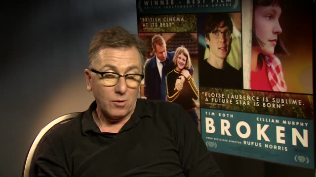 interview tim roth on the universal appeal of the story at 'broken' interview at corinthia hotel london on march 04 2013 in london england - tim roth stock videos and b-roll footage