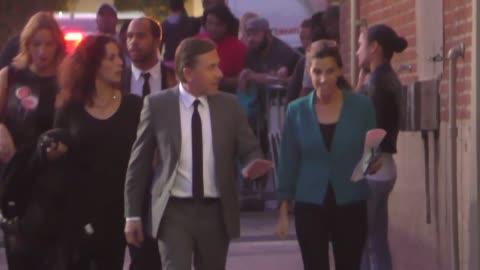stockvideo's en b-roll-footage met tim roth outside jimmy kimmel live in hollywood at celebrity sightings in los angeles on december 07, 2015 in los angeles, california. - jimmy kimmel