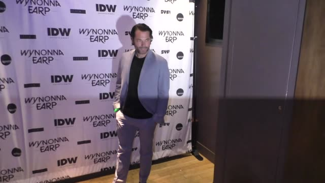 Tim Rozon at ComicCon International 2017 'Wynonna Earp' Media Mixer With Cast Fan Appreciation Party on July 20 2017 in San Diego California