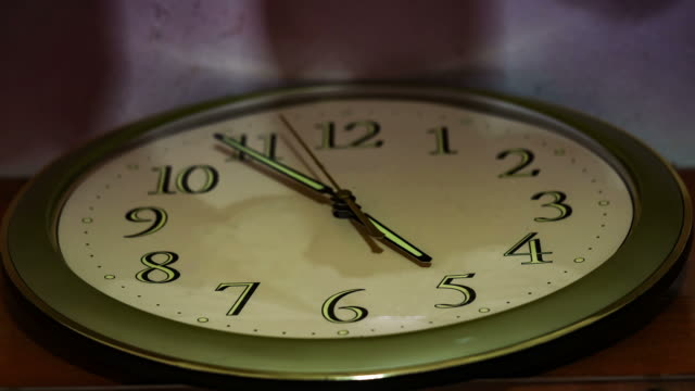 Time clock spinning