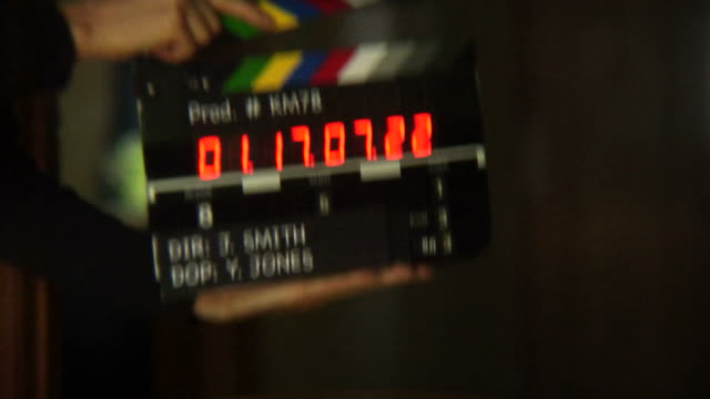 time code slate - film industry stock videos & royalty-free footage