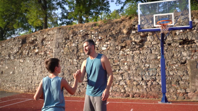 time for a basketball - son stock videos & royalty-free footage