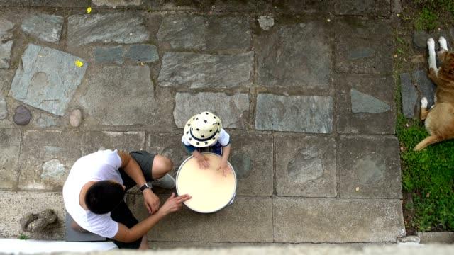 Tijd voor het drummen