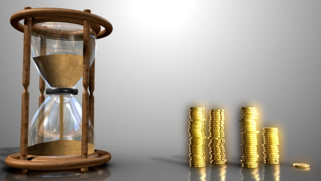 time is money hd - savings stock videos & royalty-free footage