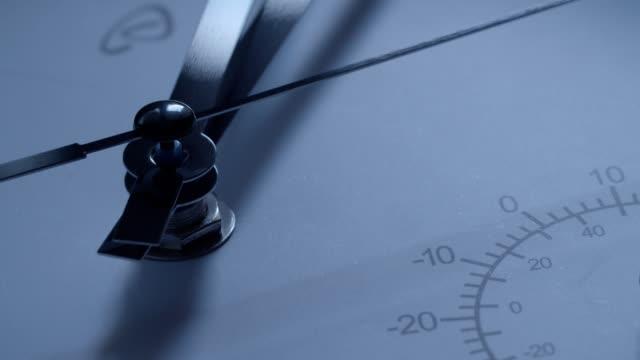 vídeos y material grabado en eventos de stock de el tiempo corre. cu de un reloj - reloj
