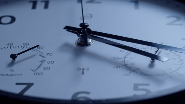 time is running. cu of a clock - number stock videos & royalty-free footage