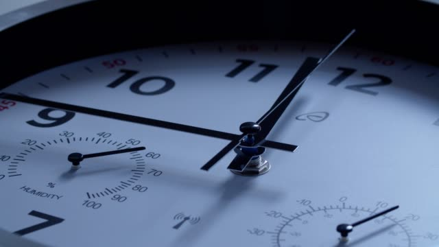 time is running. midnight is coming on the new year's eve. - time stock videos & royalty-free footage