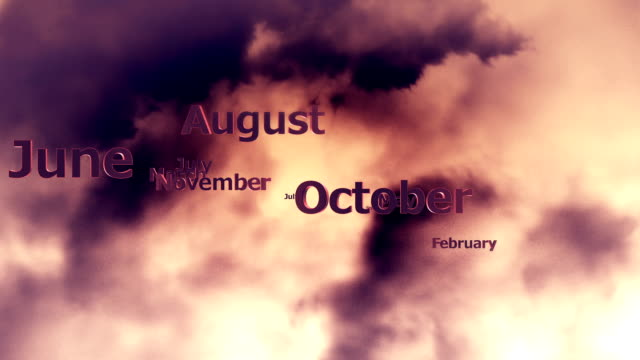 time is ticking - month stock videos & royalty-free footage