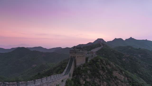 Time Lapes-Sunrise of Jinshanling great wall