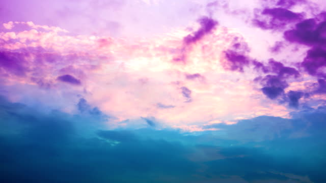 time lapse: abstract clouds loop - pastel stock videos & royalty-free footage