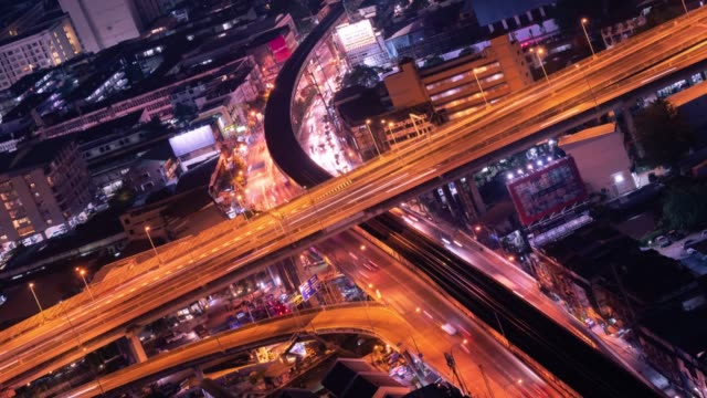 4k time lapse: aerial view of cityscape urban architecture from point of view. - reflector stock videos & royalty-free footage