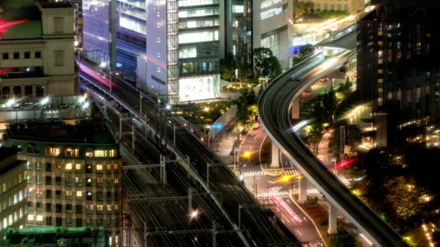 大門でダウンタウンで実行して空列車トラフィックのうち時間の経過 [上空表示ズーム