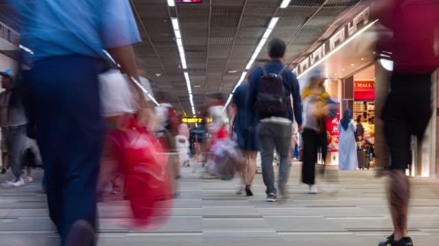 4K Time lapse : Airport Passenger Terminal